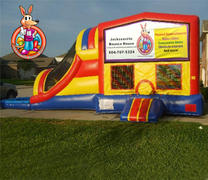 Jacksonville Bounce House Module 5 in 1 Waterslide Bouncehouse Combo
